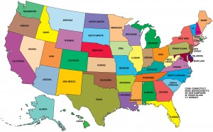 USA Map Only